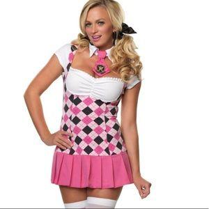 Halloween Sexy Costume Prep School Cutie Size XS